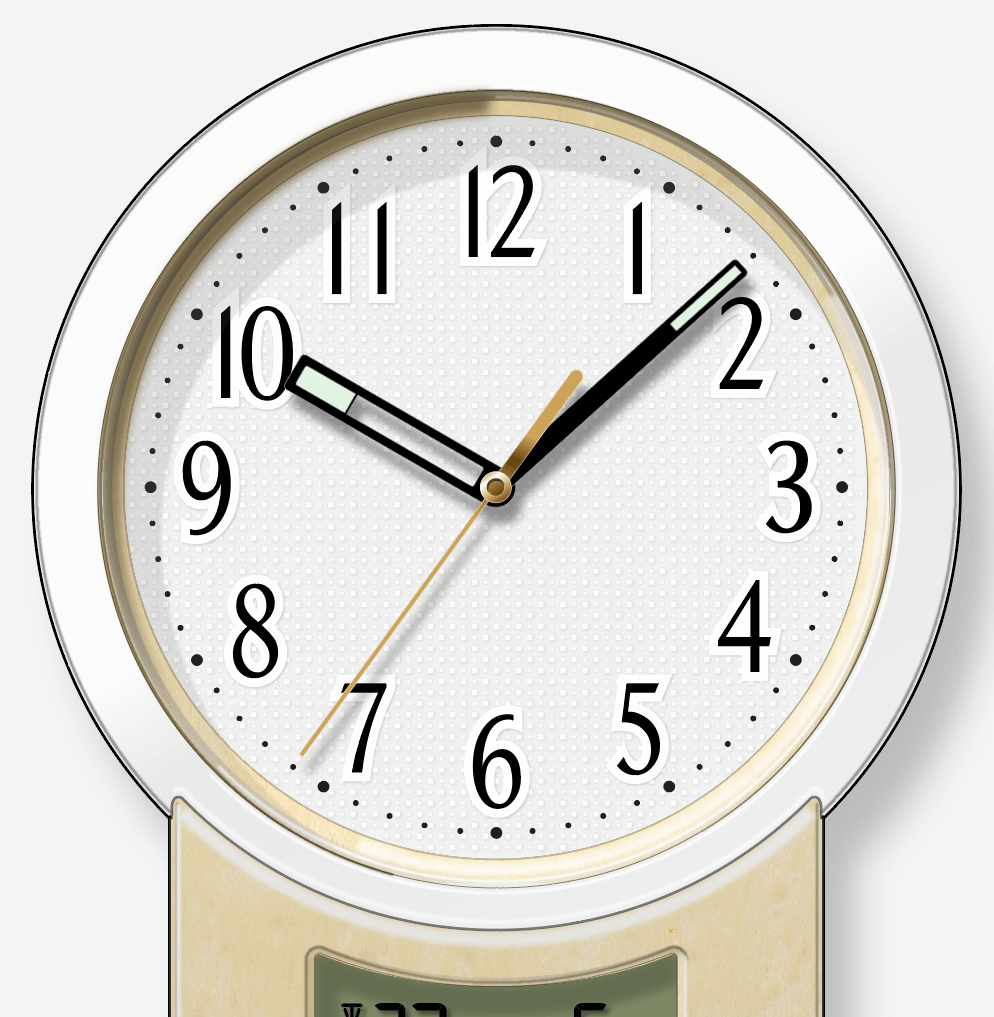 時計版下レイアウト